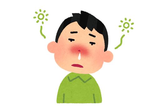 花粉症の2つの病型